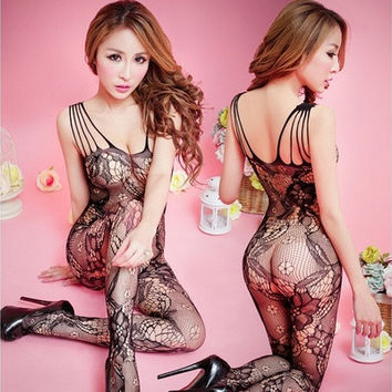 Lovers Couples Accessories Sexy Body Stockings Sexy Lingeries [9325857156]
