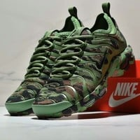 NIKE TN Series 2018 new camouflage green classic color cushioning sneakers F-CSXY