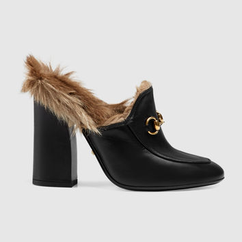3c4b9704d Gucci Princetown leather mule from GUCCI | Shoe Business 👡