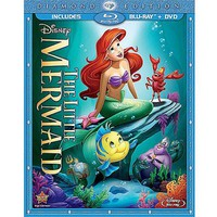 The Little Mermaid (Diamond Edition) (Blu-ray + DVD) (Anamorphic Widescreen) - Walmart.com