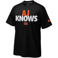 Nike Cincinnati Bengals AJ Knows T-Shirt - Black