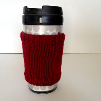 Coffee cozies, coffee cup sleeve, knit coffee cozy, knitted coffee cozy, coffee accessories, coffee travel mug, coffee sleeve, coffee cozy