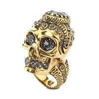 Victorian Jeweled Skull Ring Alexander McQueen | Ring | Jewelry |