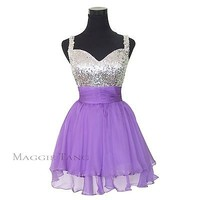 Short Homecoming Sexy Graduation Prom Party Ball Dress New Bridesmaid in stock