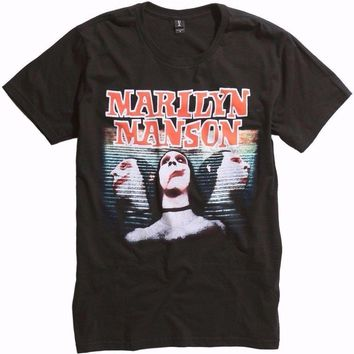Marilyn Manson SWEET DREAMS T-Shirt NEW Authentic & Licensed Front & Back Design
