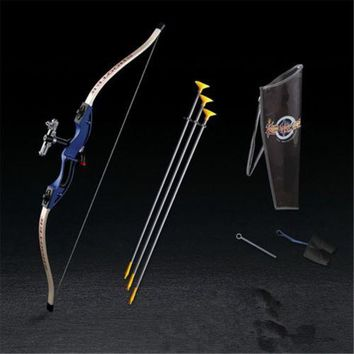 Parents and shooting bow and arrow toy boy toys outdoor sports fitness equipment