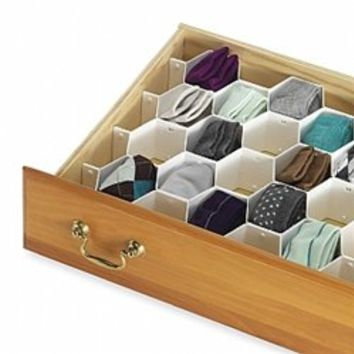 Honeycomb Drawer Organizer Dorm Organization Products Stuff Supplies