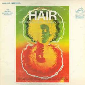 Hair - The American Tribal Love-Rock Musical (The Original Broadway Cast Recording) - Various, LP (Pre-Owned)