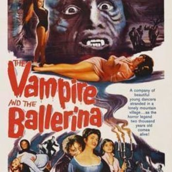 Vampire And The Ballerina The Movie Poster Standup 4inx6in