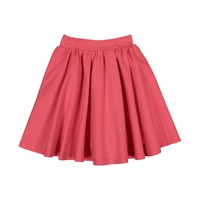 Teela Girls' GRACE Hot Pink Ponte Circle Skirt