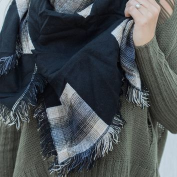Smoke & Mirrors Blanket Scarf