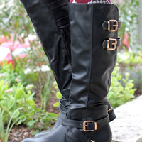 Hollow Brook Estates Boot - Black