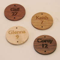 Wood Calendar Birthday Board - Family Birthday Calendar/Reminder