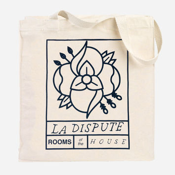 Hello Merch — Rooms of the House Canvas Tote Bag