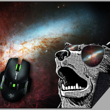 Glorious Space Bear Mousepad