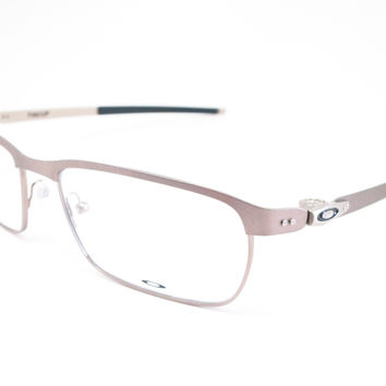 Oakley Tincup OX3184-04 Powder Steel Eyeglasses