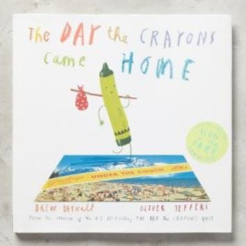 The Day The Crayons Came Home by Anthropologie in Ivory Size: One Size Books