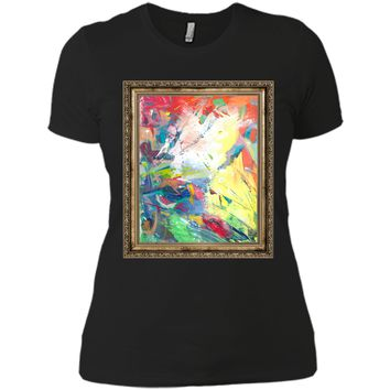 Amiable Abstract Art 2017 T Shirt