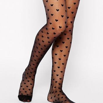 Gipsy Young Heart Tights at asos.com