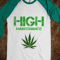 high maintenance tee - glamfoxx.com