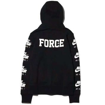 NIKE AIR FORCE Men Fashion Trending Casual Long Sleeve Pullover Long Sleeve Sweater G-ZDL-STPFYF