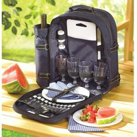 Elegant Picnic For 4 Backpack