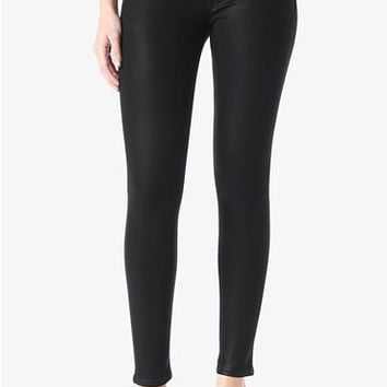 Hudson Krista Super Skinny - Noir Coated