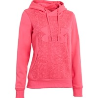 Under Armour Women's Armour Fleece Storm Eclipse Big Logo Hoodie - Dick's Sporting Goods