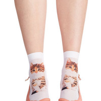 ModCloth Quirky Tabby and You Know It Socks