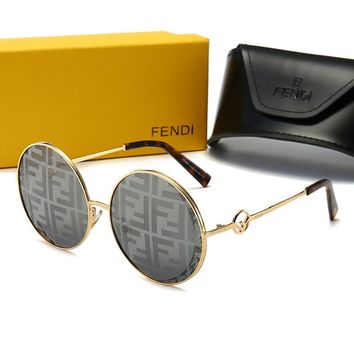 0358 FENDI Fashion Popular Summer Sun Shades Eyeglasses Glasses Sunglasses