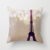 Lumiere Throw Pillow by Alicia Bock | Society6