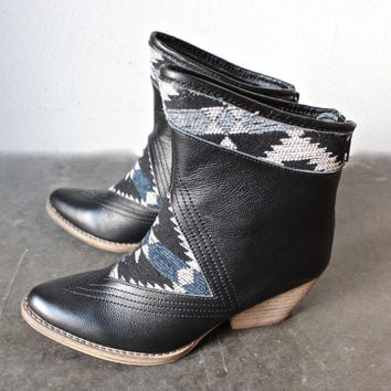 """sbicca - """"sookies"""" black southwest ankle boots"""