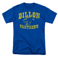 Friday Night Lights Men's  Panthers T-shirt Blue Rockabilia