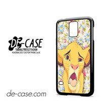 Zimba The Lion King For Samsung Galaxy S5 Case Phone Case Gift Present
