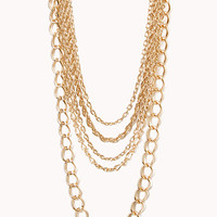 Luxe Multi-Chain Layered Necklace