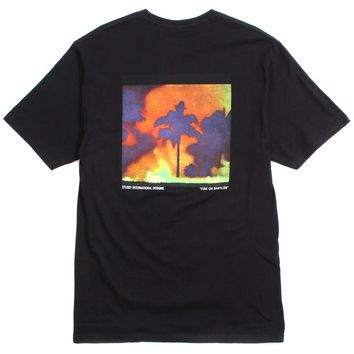 Fire On Babylon T-Shirt Black