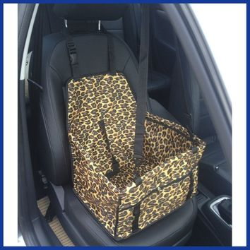 Dog car seat cover waterproof.