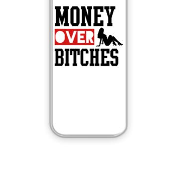 money over bitches  - iPhone 5&5s Case