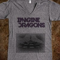 Imagine Dragons Radioactive V-Neck Tee