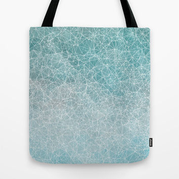 Polygonal A3 Tote Bag by VanessaGF