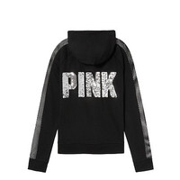 Bling Perfect Full-Zip - PINK - Victoria's Secret