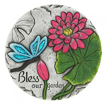 Bless Our Garden Butterfly Stepping Stone