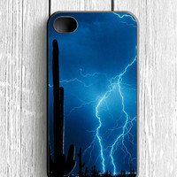 Lightning Cactus iPhone 4S Case