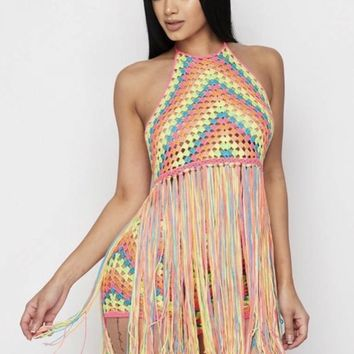 Power fringe two piece sets