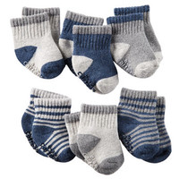 6-Pack Heathered Socks