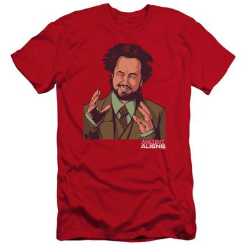 Ancient Aliens - It Must Be Aliens Short Sleeve Adult 30/1