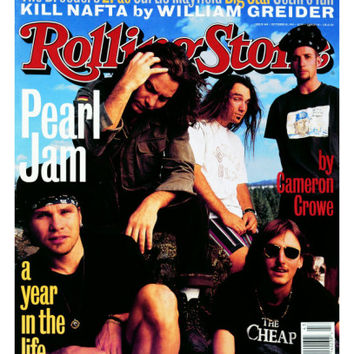 Pearl Jam, Rolling Stone no. 668, October 1993 Photographic Print by Mark Seliger at AllPosters.com