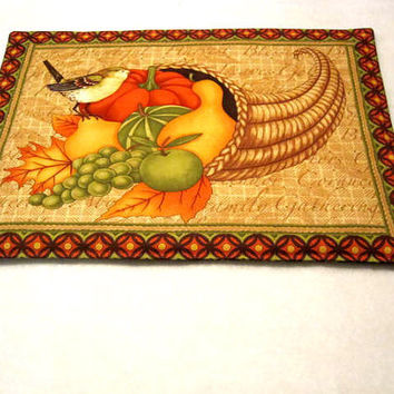 Fall/Autumn  Placemats, Holiday, Center piece - set of 4