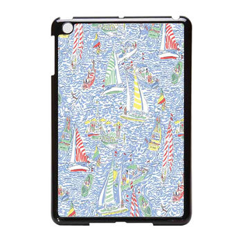 Lilly Pulitzer Sailboat iPad Mini Case