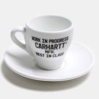 Buy Carhartt Espresso Cups - Ceramic White from Urban Industry | Urban Industry